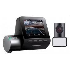 Видеорегистратор 70mai Dash Cam Pro Plus + Rear Cam Set A500S-1, 2 камеры, GPS, ГЛОНАСС