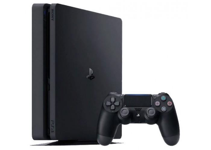 Sony PlayStation 4 Slim 500 ГБ чёрная