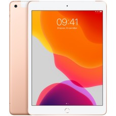 iPad (2019) Wi-Fi + Cellular 32 ГБ золотой