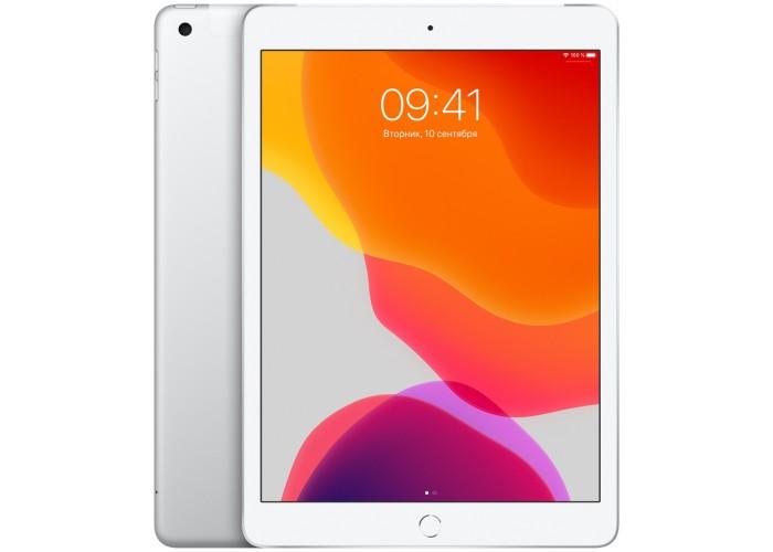 iPad (2019) Wi-Fi + Cellular 128 ГБ серебристый