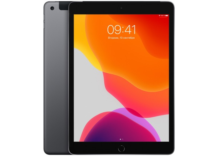 iPad (2019) Wi-Fi + Cellular 128 ГБ «серый космос»