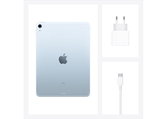 iPad Air (2020) Wi-Fi + Cellular 64 ГБ «голубое небо»
