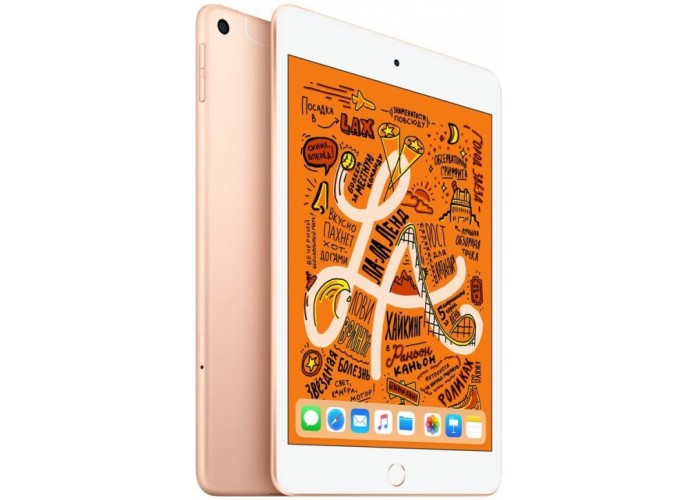iPad mini (2019) Wi-Fi + Cellular 256 ГБ золотой