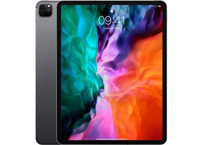 iPad Pro (2020) 12,9 дюйма Wi-Fi + Cellular 256 ГБ «серый космос»