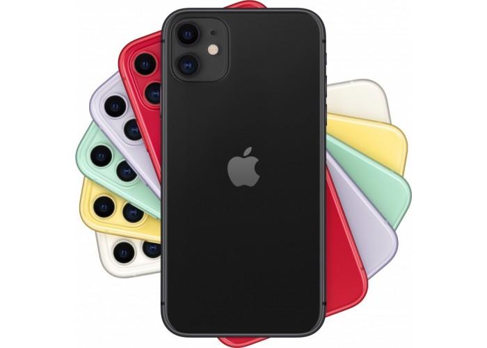 iPhone 11 (Dual SIM) 256 ГБ чёрный
