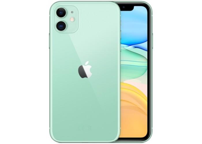 iPhone 11 (Dual SIM) 256 ГБ зелёный
