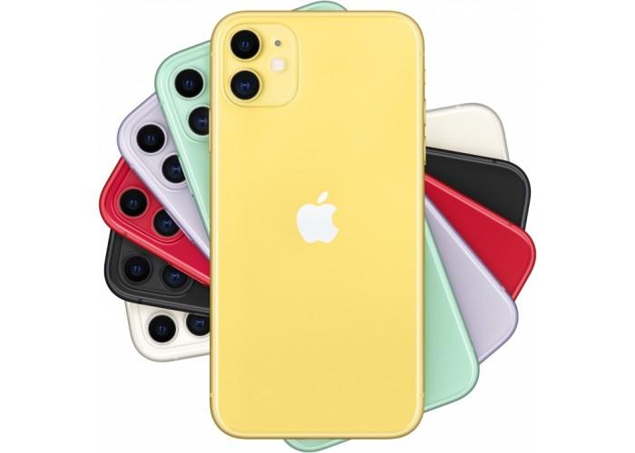 iPhone 11 (Dual SIM) 128 ГБ жёлтый