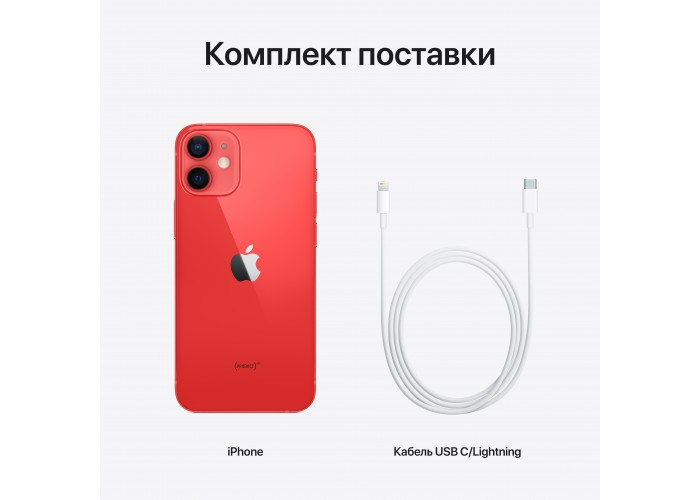iPhone 12 mini 128 ГБ (PRODUCT)RED