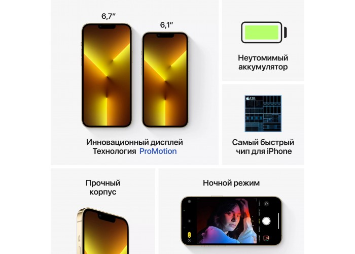iPhone 13 Pro Max 256 ГБ золотой
