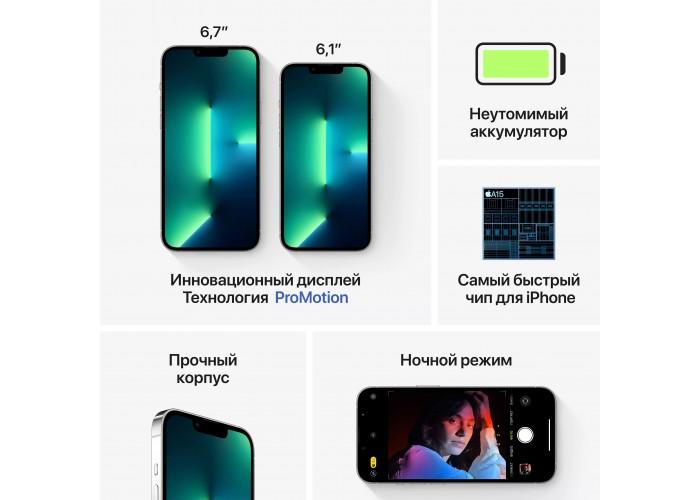 iPhone 13 Pro 256 ГБ серебристый