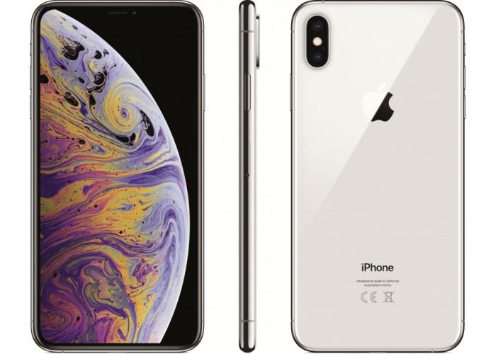 iPhone XS Max 256 ГБ серебристый