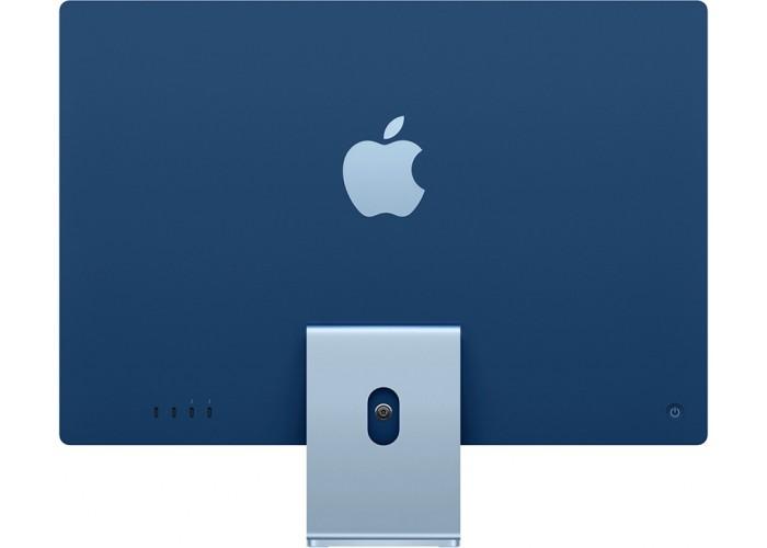 "iMac 24"" 2021, Retina 4.5K, M1, 8-core GPU, 8 ГБ, 512 ГБ SSD, синий"