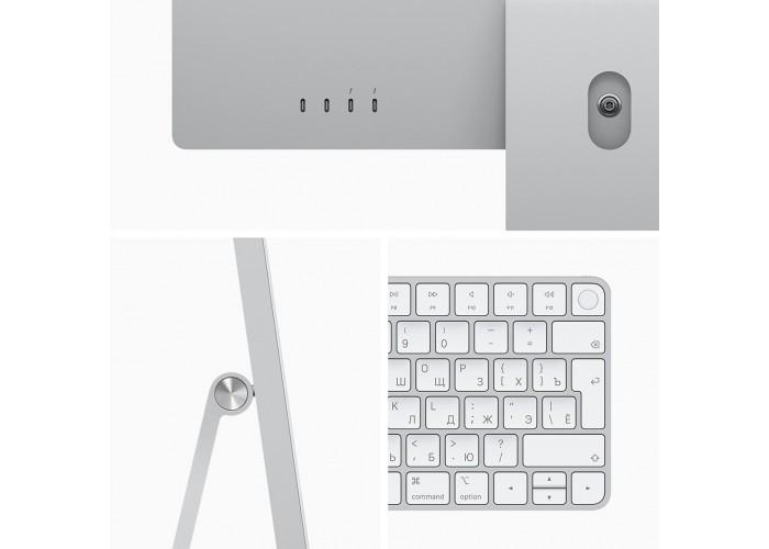 "iMac 24"" 2021, Retina 4.5K, M1, 8-core GPU, 8 ГБ, 256 ГБ SSD, серебристый"
