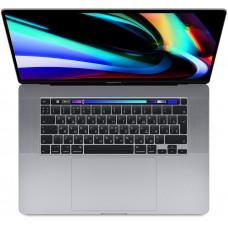 "MacBook Pro 16"" Late 2019, Core i7 2,6 ГГц, 16 ГБ, 512 ГБ SSD, Radeon Pro 5300M, Touch Bar, «серый космос»"