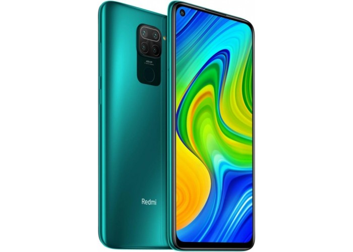 Xiaomi Redmi Note 9 3/64GB (NFC) зелёный