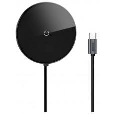 USB-концентратор с беспроводной зарядкой Baseus Circular Mirror Wireless Charger HUB