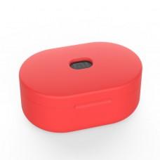 Чехол силиконовый для Redmi AirDots, красный цвет