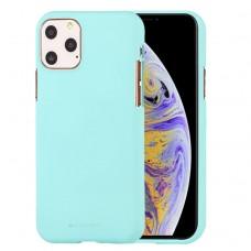 Чехол Mercury Goospery Soft Feeling для iPhone 11 Pro Max, мятный цвет