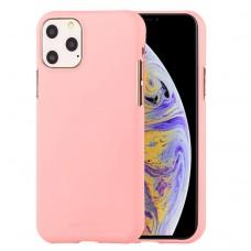 Чехол Mercury Goospery Soft Feeling для iPhone 11 Pro Max, розовый цвет