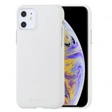 Чехол Mercury Goospery Soft Feeling для iPhone 11, белый цвет