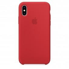 Чехол силиконовый Silicone Case для iPhone XS, (PRODUCT)RED