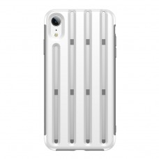 Чехол Baseus Cycling Helmet Case для iPhone XR, белый цвет