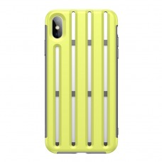 Чехол Baseus Cycling Helmet Case для iPhone XS Max, салатовый цвет