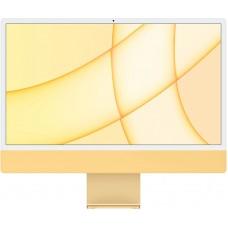 """iMac 24"""" 2021, Retina 4.5K, M1, 8-core GPU, 8 ГБ, 256 ГБ SSD, жёлтый"""
